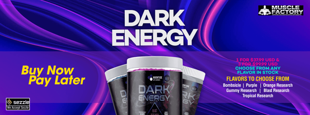 Dark Energy Pre Workout In Stock