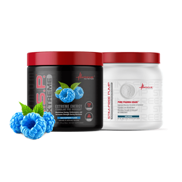 Promo deal E.S.P. Extreme and Stim Free Pump