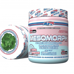 Mesomorph by APS Nutrition - Carnival Cotton Candy Flavor In Stock