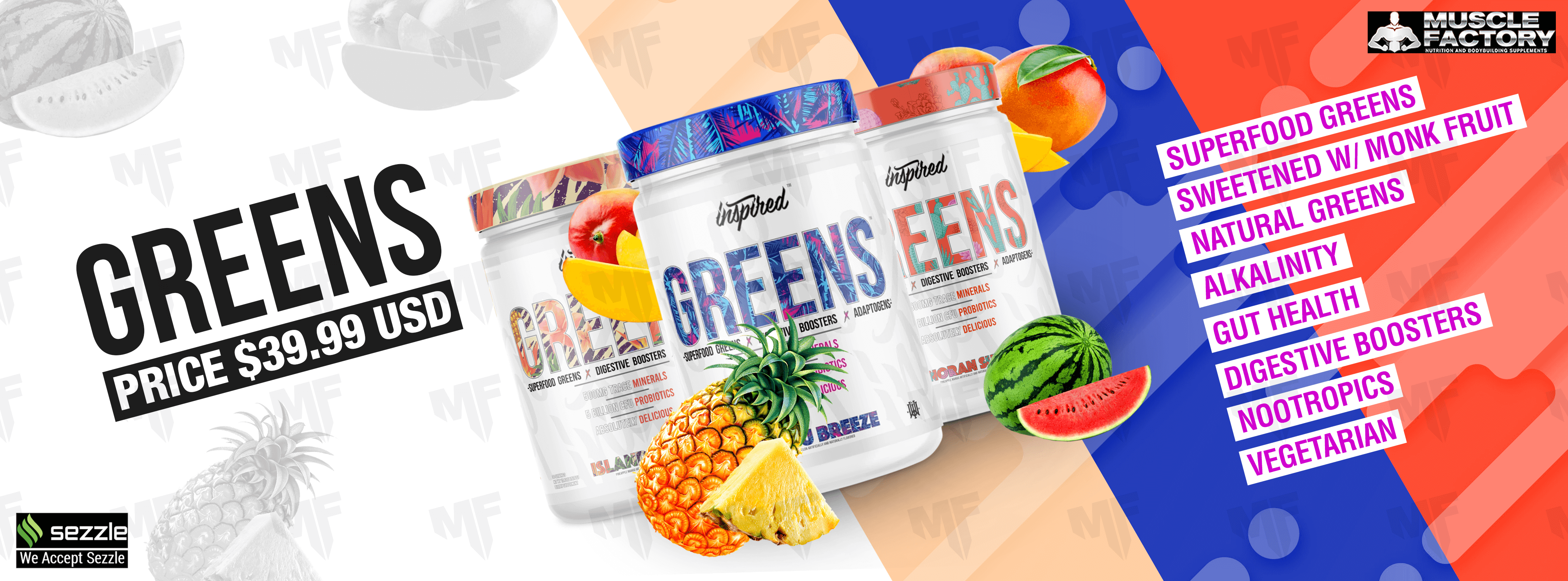 Flavor Panel GREENS Superfood Powder